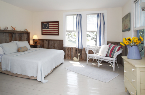 BeachBedroom at Thimble Island House