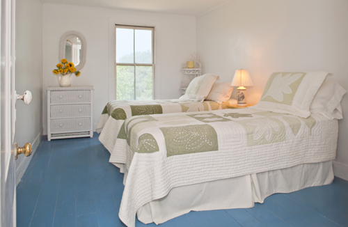 TwinLeaf Bedroom at Thimble Island House