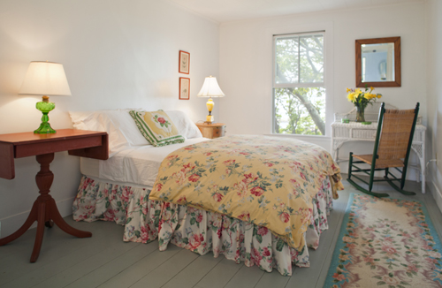 English Rose Bedroom at Thimble Island House