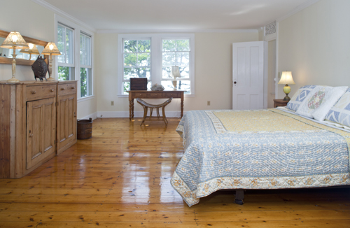 Master Bedroom at Thimble Island House