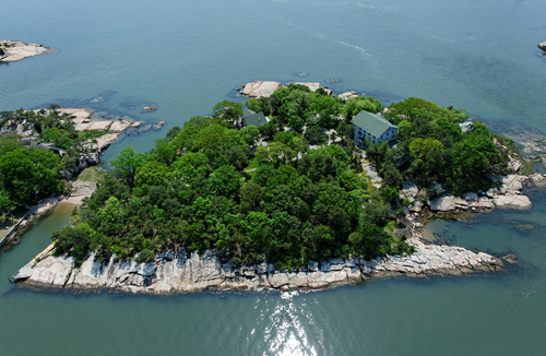 Aerial View Channel Lot Pot Island
