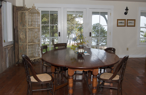 Dining Room at Thimble Island House
