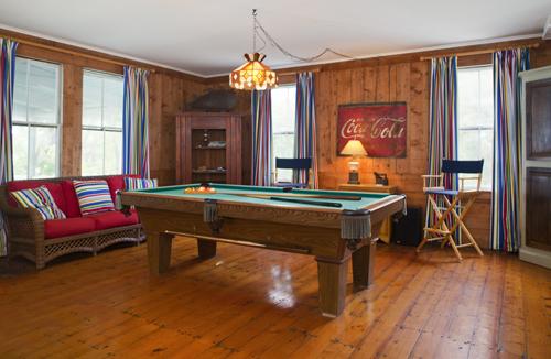 Thimble Island House Game Room
