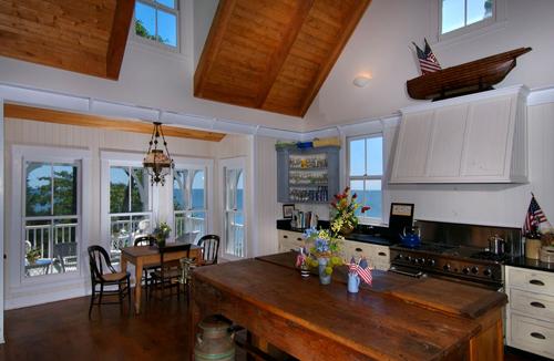 Thimble Island House Kitchen
