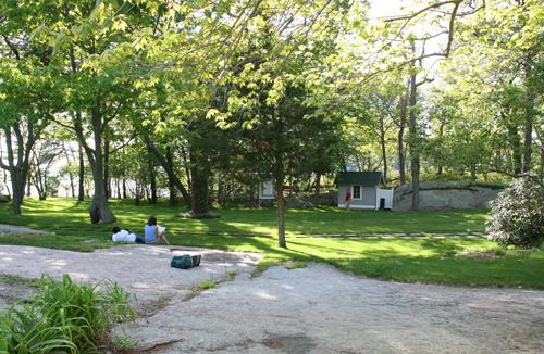 Thimble Island House Meadow